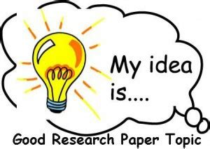Starting your research paper